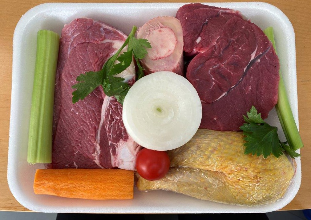 vaschetta supermercati winner di carni per bollito